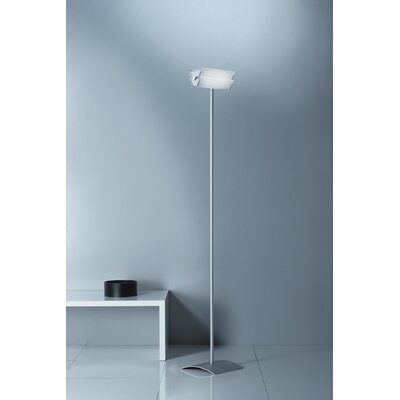 Lucente Duplex 186cm Uplighter Floor Lamp
