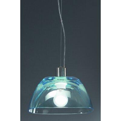 Lucente Pinko 1 Light Bowl Pendant
