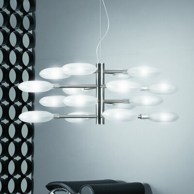 Lucente Lollypop 16 Light Cluster Pendant