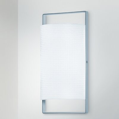 Lucente Posi 1 Light Flush Wall Light