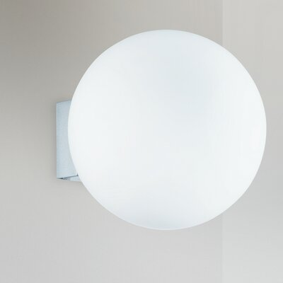 Lucente O 1 Light Flush Wall Light