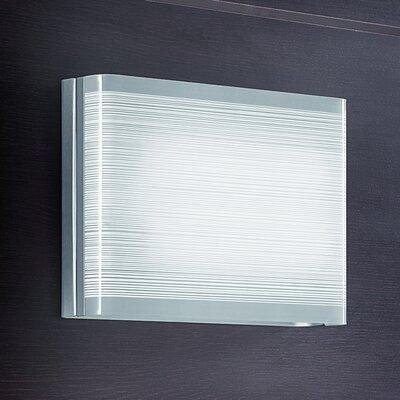 Lucente Twist 2 Light Flush Wall Light