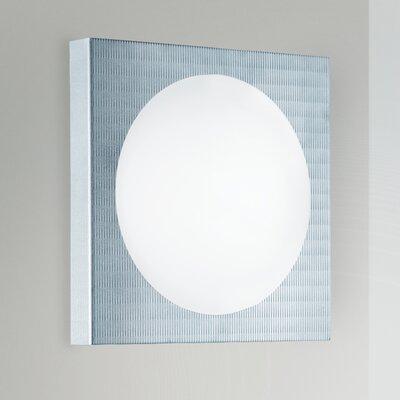 Lucente Domino 1 Light Flush Wall Light