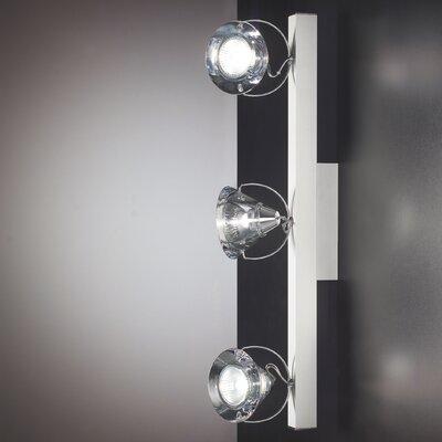 Lucente Wedge Adjustable 3 Light Wall Spotlight