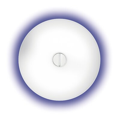 Flos Button 1 Light Flush Wall Light