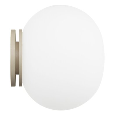 Flos Glo-Ball W 1 Light Flush Wall Light