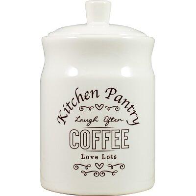 David Mason Design Kitchen Pantry Coffee Canister