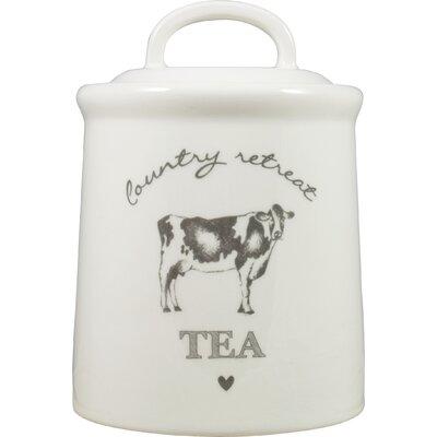 David Mason Design Country Retreat Tea Canister