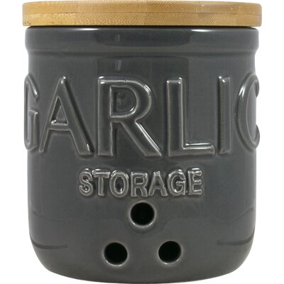 David Mason Design Otto Garlic Canister