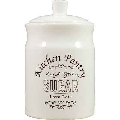 David Mason Design Kitchen Pantry Sugar Canister