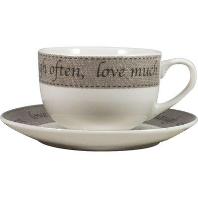 David Mason Design Kitchen Pantry Cup and Saucer