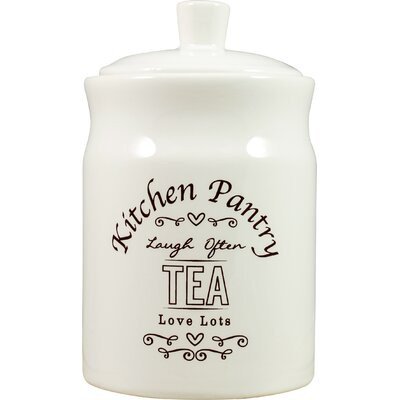 David Mason Design Kitchen Pantry Tea Canister