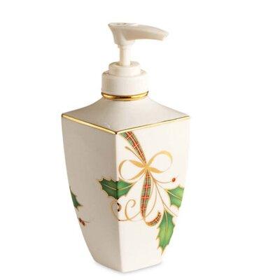 Lenox Holiday Nouveau Soap / Lotion Dispenser