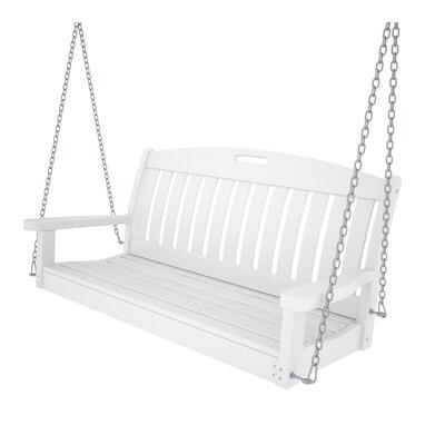 POLYWOOD® Nautical Porch Swing