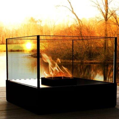 Cell Series Atrium Steel Bio-Ethanol Fireplace