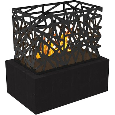 Laguna Electric Fireplace Finish: Black