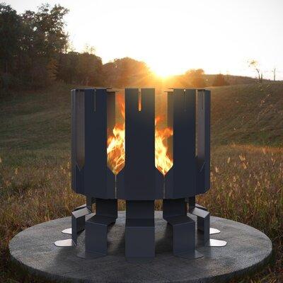Ion Steel Wood Fire Pit