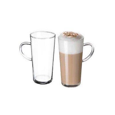 Ella Sabatini Simax 0.35L Karina Latte/Hot Chocolate Mug in Clear