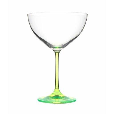 Ella Sabatini 4 Piece Neon 0.34L Champagne Saucer Set