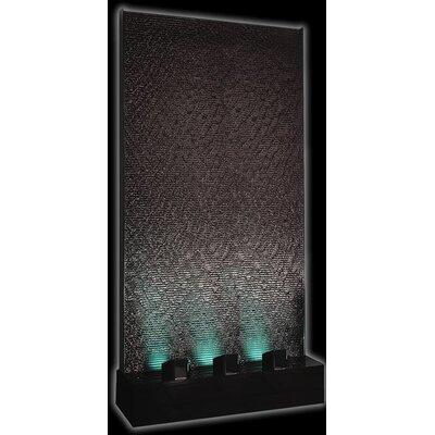 Acrylic Column Fountain with LED Light