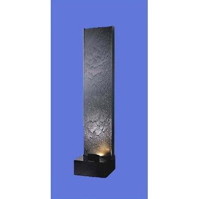 Acrylic Aqua Fall AF-2 Floor Fountain Finish: Black
