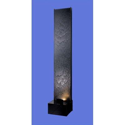 Acrylic Aqua Fall AF-3 Floor Fountain Finish: Black