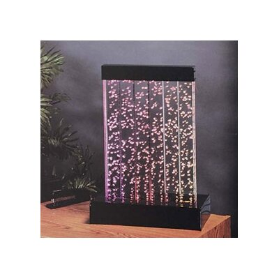 Acrylic Water Panel Fountain Size: 3.5'H (3 Gallons)