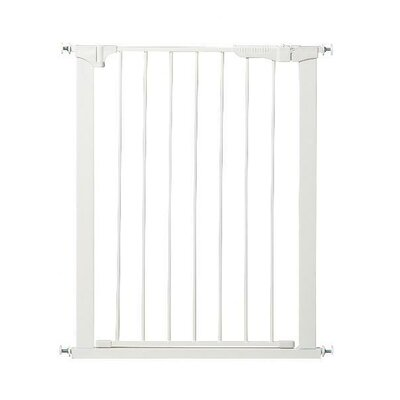 Extra Tall and Wide Auto Close Gateway Gate Color: White