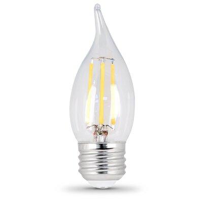 E26 Medium LED Light Bulb Pack Of Two Bulb Temperature: 2700K, Wattage: 6W