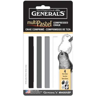 General MultiPastel Compressed Stick