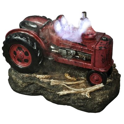 Tractor LED Fountain with LED Lights