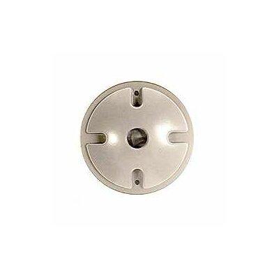 "4"" Single Outlet Weatherproof Round Lampholder"