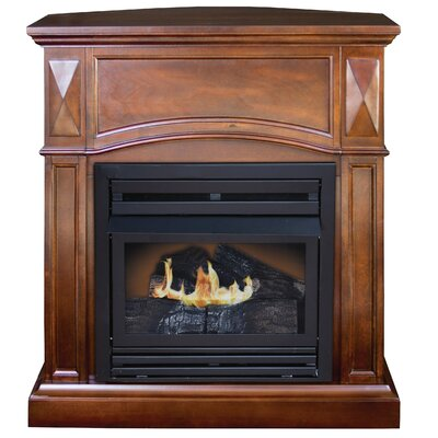 Belmont Compact Dual Fuel Fireplace