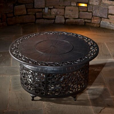 Bellagio Aluminum Propane Fire Pit Table