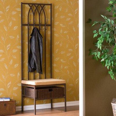 Wildon Home ® Goldwood Entryway Hall Tree
