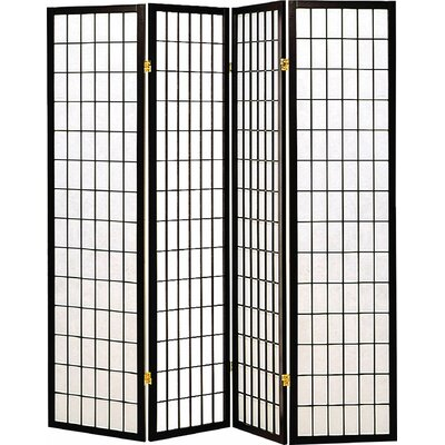 Quincy Japanese 4 Panel Room Divider