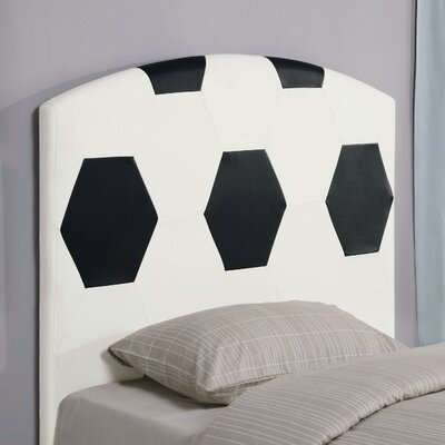 Wildon Home ® Bowdoin Soccerball Twin Upholstered Headboard