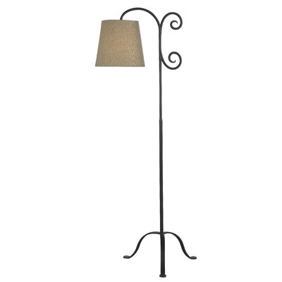 "Wildon Home ® Morrison Claremont 59"" Arched Floor Lamp"
