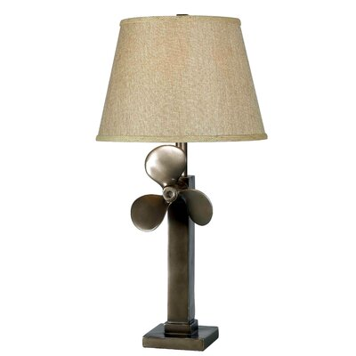 """Wildon Home ® Kiran 30"""" H Table Lamp with Empire Shade"""