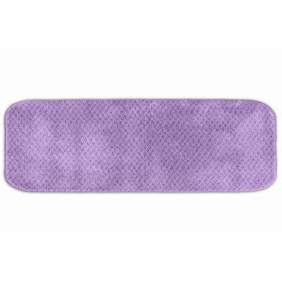 "Corbin Bath Rug Color: Purple, Size: 30"" x 50"""