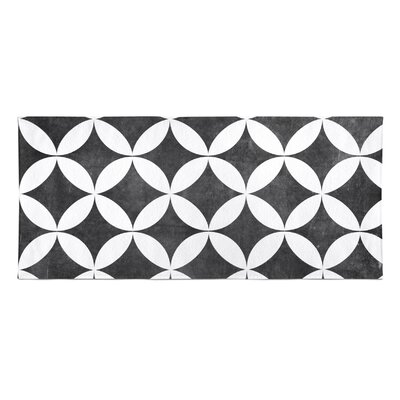 Persephone Beach Towel Color: Black