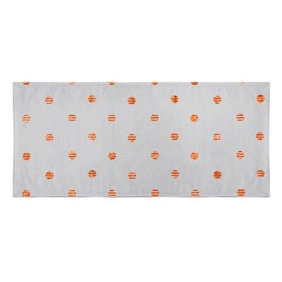 Victoire Beach Towel Color: Orange