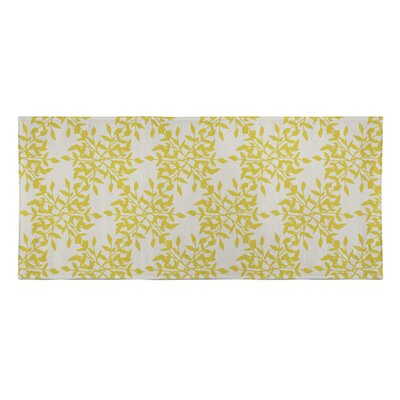Palmyra Beach Towel Color: Yellow