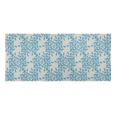 Palmyra Beach Towel Color: Blue