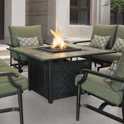 Carson Aluminum Propane Fire Pit Table