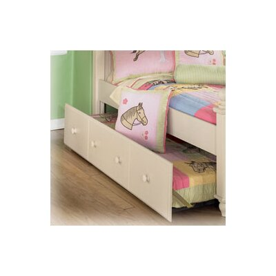 Carey Twin Trundle Panel in Cream Cottage