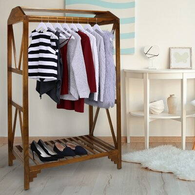 Ivesdale Space Saving Coat Rack