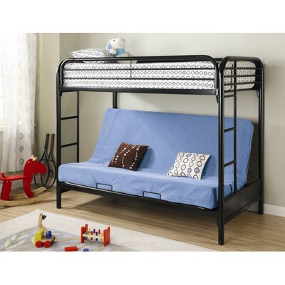 Wildon Home ® Elsie Twin over Full Futon Bunk Bed