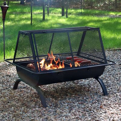 North Wood Steel Wood Burning Fire Pit