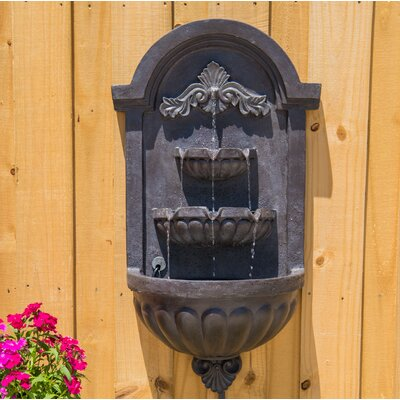 Danica Resin Wall Fountain with Light
